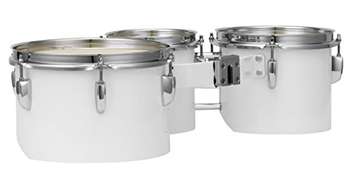 Pearl MJT680/CXN33 Junior Marching Trio Set 6''x6.5'', 8''x6.5'', 10''x6.5'' and Carrier by Pearl (Image #1)