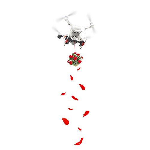 HMANE Payload Delivery Drop Kit Fishing Bait / Wedding Proposal Release Device for DJI Phantom 4 Pro/Phantom 4 Pro V2.0 - (White) by HMANE