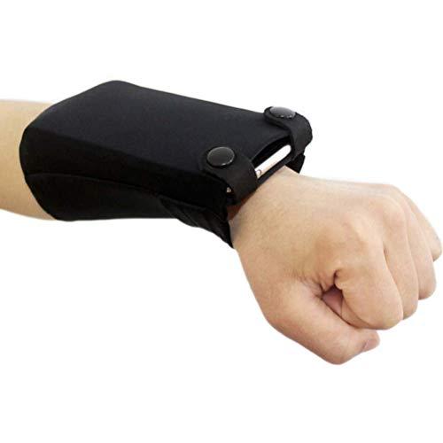 Urisgo Sport Wrist Bag, Wrist Wallet polstelefoonhouder, verborgen tas, looptas, voor de onderarm, mobiele…
