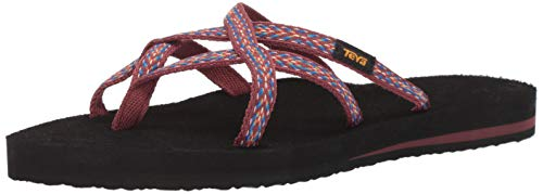 Teva Women's W Olowahu Flip-Flop Himalaya Port 7 Medium US