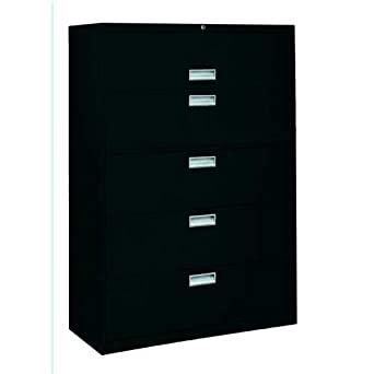 8a779c15a09 Amazon.com  Sandusky Lee LF6A425-09 600 Series 5 Drawer Lateral File Cabinet