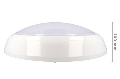 Plafoniere Con Luce Emergenza : Plafoniera led da soffitto 18w con sistema di emergenza inclusa