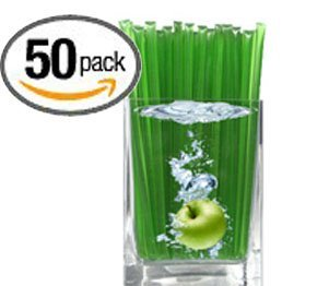Sour Green Apple Flavored Honeystix - Flavored Honey - Pack of 50 Stix - 250g