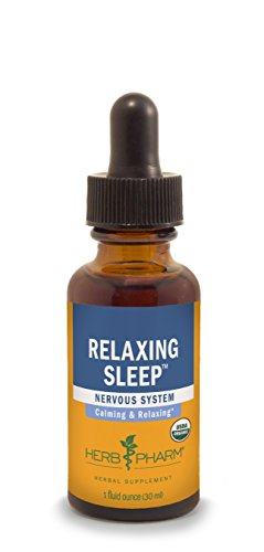 Herb Pharm Relaxing Sleep Herbal Formula with Valerian Extract – 1 Ounce
