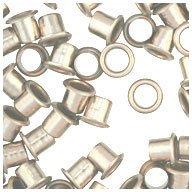 WIDGETCO 1/4'' Nickel Shelf Pin Sleeves