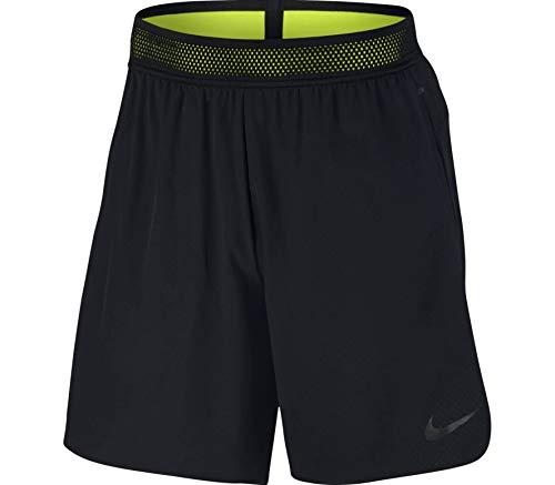 Nike Men's 8'' Flex Repel Shorts (Black/Volt/Black, XXL)