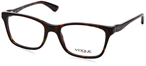 Vogue VO2907 Eyeglass Frames W656-52 - Dark Havana - Glasses Vogue Havana