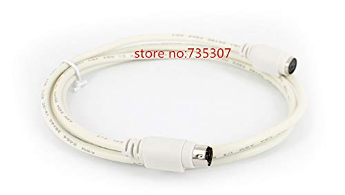Printer Parts Brand New 2.5-3M ps/2 Keyboard Mouse Male to Female Extension Cable Lead 6 Pin by Yoton
