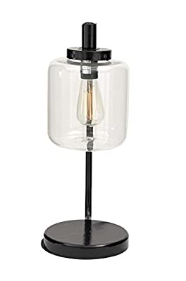 "Deco 79 67722 Metal Glass Table Lamp 20""H"