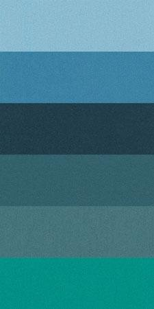 Sue Spargo 1/64 Cuts of Merino Wool Fabric, Pack of Six Different Colors - Teals