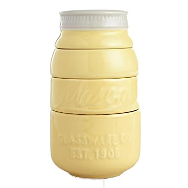 Mason Jar Stackable Measuring Cups - Yellow