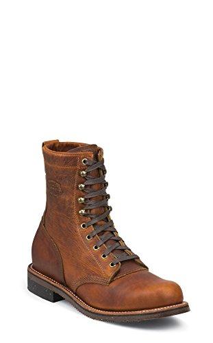 Chippewa Men's Renegade Service Boot Round Toe Tan 9 D(M) US (Chippewa Service Boot compare prices)
