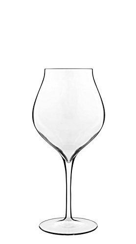 Luigi Bormioli Vinea Red Wine Stem Glasses (Set of 2), 20.25 oz, Clear (Amarone Wine Red)