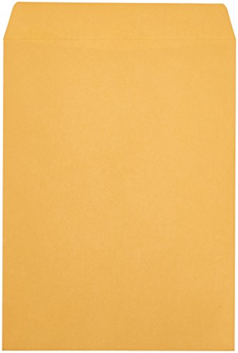 AmazonBasics Catalog Envelopes, Peel & Seal, 9 x 12 Inch, Brown Kraft, 250-Pack Photo #2
