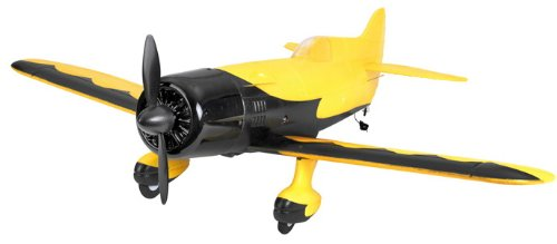 Scale Remote Control Plane - Brand New 4 Channel RC EP 26 Aerobatic Geebee Scale Remote Control Plane (Yellow)