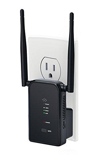 WiFi Amplifier Wall Plug Wifi Range Extender 300Mbps Wi-Fi R