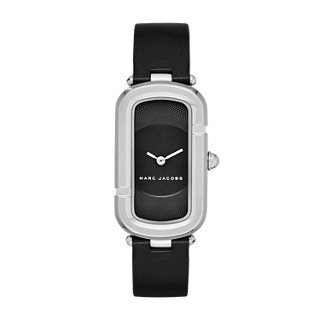 Marc Jacobs Women's The Jacobs Black Leather Watch - MJ1493