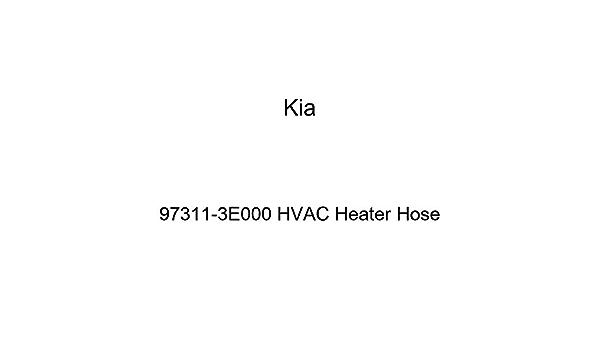 Kia 97311-3E000 HVAC Heater Hose