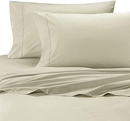 Wamsutta Cool Touch  KING FITTED SHEET Percale 350ct 100/% Egyptian Cotton NEW