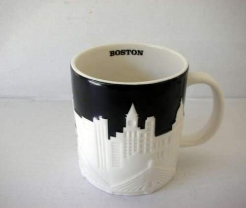 Starbucks Boston Relief Mug From Their City Relief Mug Collector Series, 16 Fl ()