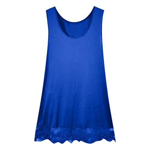 Casual Pizzo Pastello Abito Jiameng Pura Senza Blu Orlo Da In Maniche Tinta Con Cuciture E Donna Color Lunghe Vestito vOOwqd