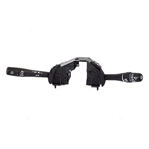 Turn Signal Switch Windshield Wiper & Headlamp Brights Combination Lever Replacement for Malibu & Classic Alero Cutlass Grand Am 22602262