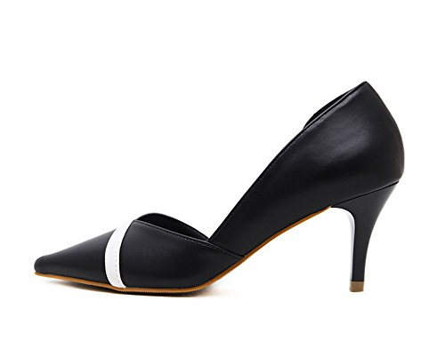 Sandalias 1to9 Mujer Cuña Negro 1to9mmsg00367 Con OHwHCxTq