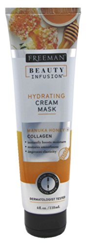 Freeman Beauty Infusion Mask Hydrating Cream 4 Ounce (Collagen) (118ml) (6 Pack)