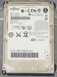FUJITSU Mobile MHW2040AT - Hard Drive - 40 GB - Internal - 2.5