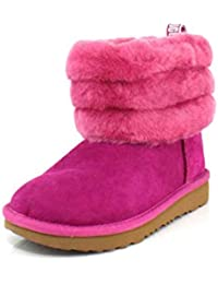 Kids' Fluff Mini Quilted Boot