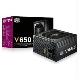 CoolerMaster Power Supply V650 650W ATX 12V APFC SATA PCI-Express 80-PLUS GOLD MODULAR Electronic Consumer Electronics