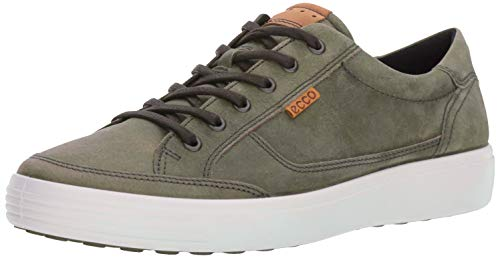 ECCO Men's Soft 7 Fashion Sneaker, Wild Dove grey,44 EU / 10-10.5 US