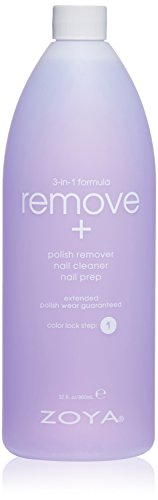 - Zoya Remove 3 in 1 Polish Remover, 32 Fluid Ounce
