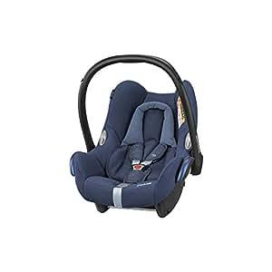 Maxi-Cosi CabrioFix silla de auto reclinable y de alta seguridad para tu bebe, 0-12 meses, 0-13 kg, color azul (nomad blue)