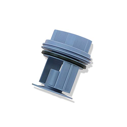 - SHEAWA Washing Machine Washer Drainage Pump Drain Outlet Seal Cover Plug for Siemens Bosch WM1095/1065 WD7205 (Blue)