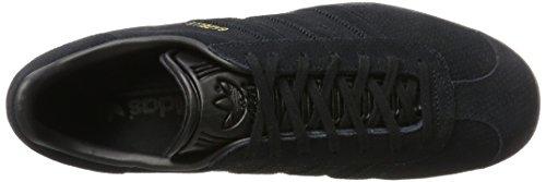 Black Adidas Uomo Basse Ginnastica core core Gazelle gold Black Scarpe Metallic Da Nero xrFfxgwv