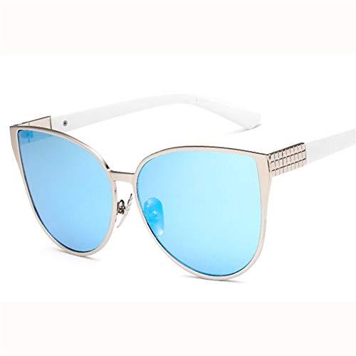 de de calle Las metálico NIFG de marco sol retro del gafas la tiro rosadas de del vacaciones las forman gafas sol BXWgnvWR7