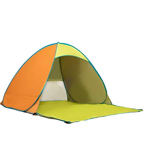 NILINLEI Automatic Tent Outdoor 3-4 Person Aluminum Pole Windproof and Waterproof, Suitable for Camping Hiking Trip…