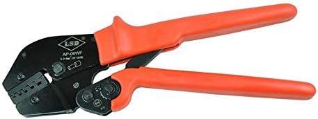 ケーブルカッター 圧着ペンチ ラチェット 圧着プライヤー 0.5〜6mm² 省エネ 圧着ケーブルフェルール 手動ケーブルカッター