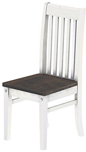 Madera Counter - Brazilfurniture Chair Rio Solid Pine Granite Grey White, Set of 2, Solid Pine Wood Oiled, Optional with Matching Table Expandable and Bench, Modern Wooden Conference Desk Kitchen Living Room