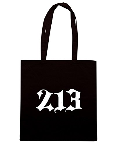 T-Shirtshock - Bolsa para la compra FUN0628 area213 black Negro