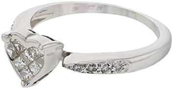 0.3 CTW Diamond Fashion Ring in Platinum Gold