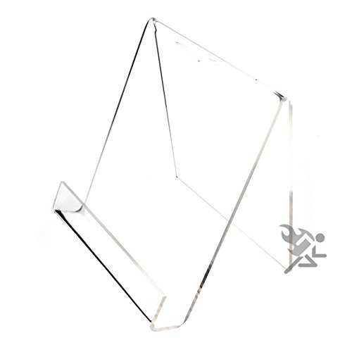 (Book Clear Acrylic Display Stand Easel Holders for Items up to 7/8