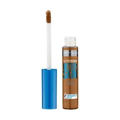 Maybelline New York SuperStay Better Skin Concealer + Corrector, Deep 0.25 oz (Pack of 2)
