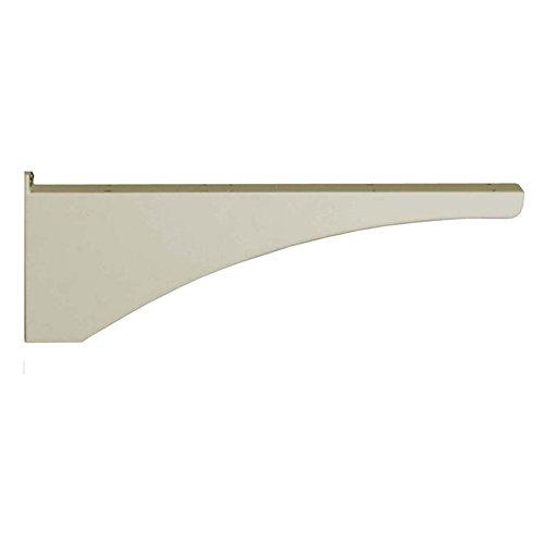 Post Side Support Bracket (Architectural Mailboxes Decorative Post Side Bracket, Graphite)