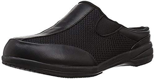 (Propet Women's Washable Walker Slides Black Mesh 11 W (Wide) & Cleaner Bundle)