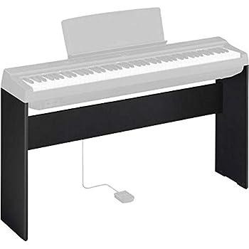 Amazoncom Yamaha L85 Keyboard Stand Black Musical