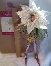 Krinkles Poinsettia - Krinkles White Poinsettia Fairy Patience Brewster 2002