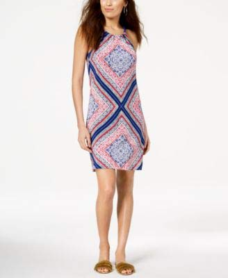 Trina Turk Women's Rancho Halter Dress, Multi, ()