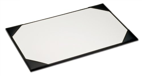 Dacasso Blotter Pad, 38 by 24-Inch, Black by Dacasso